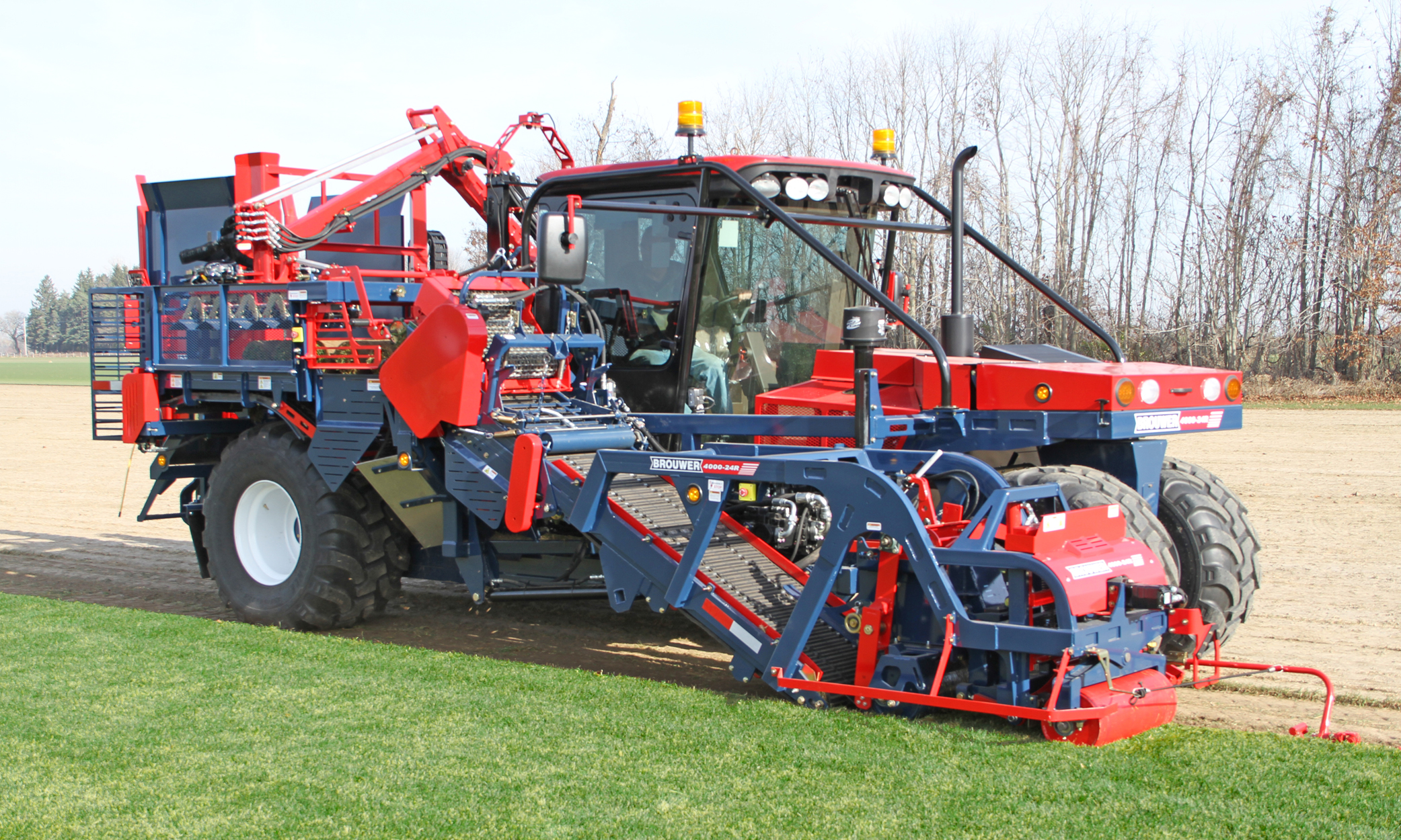 Sod Harvester